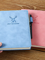 cheap -A5 creative thick notebook back to school offices And Journals Agenda Office Bussiness Diary simple notebook 14*21 cm1pcs