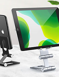 cheap -Phone Holder Stand Mount Desk Phone Holder Phone Desk Stand Adjustable Aluminum Alloy Phone Accessory iPhone 12 11 Pro Xs Xs Max Xr X 8 Samsung Glaxy S21 S20 Note20