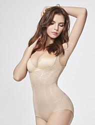 cheap -Women's Shapewear Corset Bodysuit Adjustable Detachable Shoulder Strap Bodysuit One-piece Underwear
