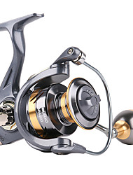 cheap -oiiaee spinning reel,10+1 stainless bb fishing reel,ultra smooth powerful, lightweight graphite frame, cnc aluminum spool for saltwater freshwater