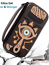 cheap -Zelda Carrying Case For Switch Game Console & Accessories Silicone Hard Shell Pouch Waterproof Protective Cover