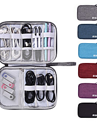 cheap -Protable Earbuds Bags Earphone Storage Case Shell Waterproof Protection  24.5*7.5*13CM