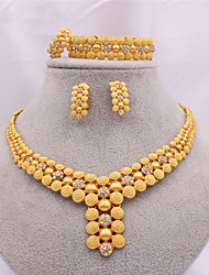 cheap -Women's Jewelry Set Earrings Jewelry Gold For Party Evening Gift
