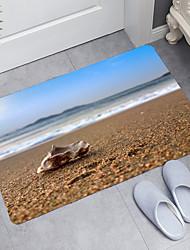 cheap -Conch Theme Series Digital Printing Floor Mat Modern Bath Mats Nonwoven / Memory Foam Novelty Bathroom