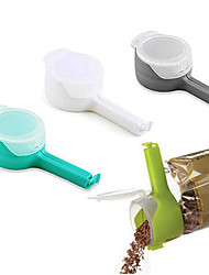 cheap -Food Storage Bag Clamps Food Sealing Clamps Effect Clamps with Large Flow Nozzles For Storing Food Kitchen Tools