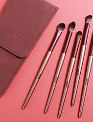 cheap -MSQ Eye Makeup Brushes Professional 5pcs Eye Shadow Makeup Brushes Set with Purple Bag Wool Fiber Hair Cosmetic Makeup Tools