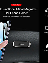 cheap -Phone Holder Stand Mount Car Car Holder Phone Holder Magnetic Phone Holder Silicone Aluminum Alloy Phone Accessory iPhone 12 11 Pro Xs Xs Max Xr X 8 Samsung Glaxy S21 S20 Note20