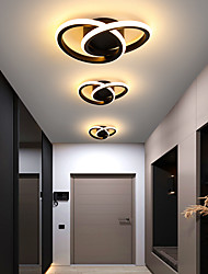 cheap -LED Ceiling Light 23 cm Dimmable Flush Mount Lights Aluminum Artistic Style Vintage Style Modern Style Painted Finishes LED Nordic Style 220-240V