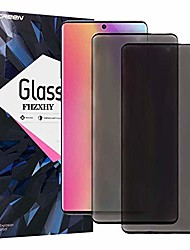 cheap -Phone Screen Protector For SAMSUNG S21 S21 Plus S21 Ultra S20 S20 Plus Tempered Glass 2 pcs 9H Hardness Privacy Anti-Spy 3D Curved edge Front Screen Protector Phone Accessory