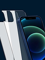 cheap -back screen protector compatible with iphone 12 [2-pack], rear tempered glass [new generation] film anti-fingerprint/scratch compatible with iphone12 (6.1 inch)