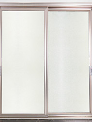 cheap -Matte Window Film Cling Vinyl Thermal-Insulation Privacy Protection Home Decor For Window Cabinet Door Sticker / Window Sticker - 100*45CM