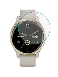 cheap -3 Pcs Smartwatch Screen Protector for garmin vivoactive 4s  ultra thin film tempered glass - bubble-free/anti-scratch/shockproof/touch sensitive