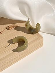 cheap -s925 silver needle anna's semicircular chic style simple earrings korean temperament high-end earrings female a125
