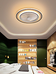cheap -LED Ceiling Fan Light 53 cm Dimmable Ceiling Fan Metal Vintage Style Modern Style Classic Painted Finishes LED Modern 220-240V