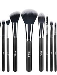 cheap -12 Pcs Professional Makeup Brushes Set Eyelash Brush And Eyebrow Brush Synthetic Hair Soft Hair