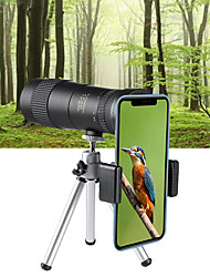 cheap -8-40 X 40 mm Monocular Lenses Portable Adjustable Zoom Ultra Clear 5 m Multi-coated BAK4 Outdoor Exercise Hunting and Fishing Camping / Hiking / Caving