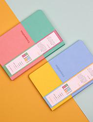 cheap -Simple basic notebook back to school office Diary Planner Agenda week plan Sketchbook Kawaii  Stationery 14.3*21.2 cm1pcs