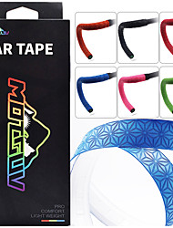 cheap -Bike Handlebar Tape Anti-Slip Cycling Nondeformable Durable Easy to Install For Road Bike Triathlon TT Recreational Cycling Fixed Gear Bike Cycling Bicycle PU(Polyurethane) Red Blue Green