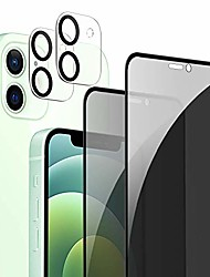 """cheap -[2+2 Pack] Ambison Privacy Screen Protector And Camera Lens Protector Compatible With Iphone 13 12 6.1"""", Anti-Spy 9H Tempered Glass, Full Coverage/Case Friendly/Touch Sensitive/Bubble Free"""