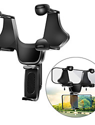 cheap -Phone Holder Stand Mount Car Car Holder Buckle Type Adjustable ABS Phone Accessory iPhone 12 11 Pro Xs Xs Max Xr X 8 Samsung Glaxy S21 S20 Note20