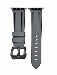 cheap -silicone watch band, soft rubber watch straps compatible with iwatch 44/42mm men, waterproof smart watch replacement bands quick release compatible for apple watch series 6 5 4 3 2 se 40/38mm band