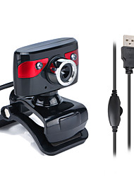 cheap -HD Webcam USB Night Vision Video Recording Web Camera with Mic for Laptop PC