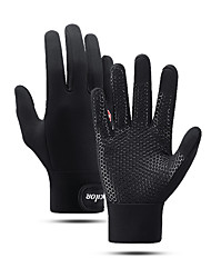 cheap -Touch Gloves Warm Skidproof Reduces Chafing Skiing Full Finger Gloves Sports Gloves Black for Adults' Outdoor Exercise Activity & Sports Gloves