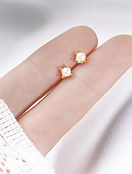 cheap -mini cute pearl earrings female small invisible all-match student earrings exquisite ins ear bone nails 2021 new