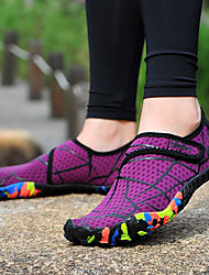 cheap -Women's Water Shoes Printing Lycra Anti-Slip Quick Dry Swimming Diving Surfing Snorkeling Kayaking - for Adults