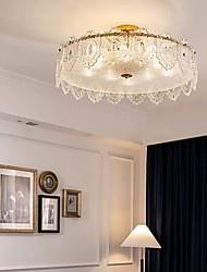 cheap -LED Ceiling Light 40 cm Lantern Desgin Flush Mount Lights Metal Electroplated Modern 220-240V