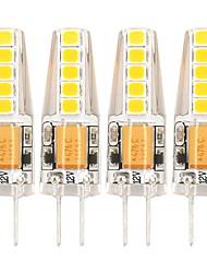 cheap -G4 LED Bulb AC12V DC12-24V  2 watt Replacement for 20W Halogen Light Bulbs of RV Interior Boat Kitchen Cabinet Puck Lamp Landscape Lighting Bi Pin Base JC T3 Type Warm White 4 Pack