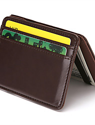 cheap -PU Leather Wallet RFID Blocking Bifold Multi slim Card Case holder for man and woman