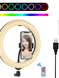 cheap -7.6 Inch Video Light PULUZ Portable Adjustable Remote Control RGB Color Modes Adjustable Brightness for Tiktok Live Streaming Video Studio Shooting Camera Product Display