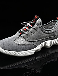 cheap -Men's Trainers Athletic Shoes Daily Outdoor Walking Shoes Mesh Gray Black Fall Spring