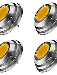 cheap -4pcs G4 Super Bright UFO Umbrella Shaped Downlight LED G4 Light Mini Corn Bulb DC12V COB LED High Power Tube 25x18mm