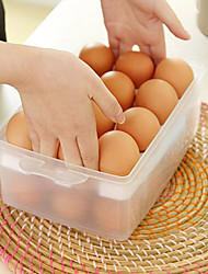 cheap -Double-layer Egg Fresh Keeping Box Household Portable Storage Box Refrigerator Storage Box 24 Compartment Large Capacity Storage Box with Lid