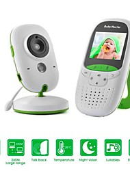 cheap -Baby Monitor 720P 2 HD Display Video Baby Monitor with Security cameras and Audio IPS Screen 850ft Range 4500 mAh Battery Two-Way Audio One-Click Zoom Night Vision and Thermal Monitor