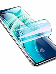 cheap -high sensitivity hydrogel protective film for motorola moto g7 power / g7 supra / g7 optimo maxx, 2 pieces transparent soft tpu screen protectors [full coverage] [clear hd] (not tempered glass)