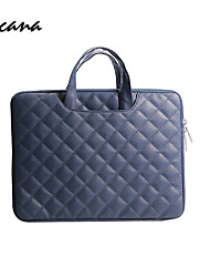 cheap -pu soft leather laptop bag briefcase embroidery computer bag