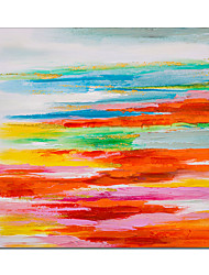 cheap -Oil Painting Handmade Hand Painted Wall Art Abstract Colorful Home Decoration Decor Stretched Frame Ready to Hang