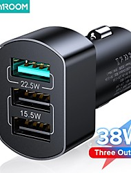 cheap -Joyroom 38W Quick Charge 3.0 USB Charging 3 Port QC 3.0 Turbo Wall Charger  For iPhone Samsung Huawei Xiaomi