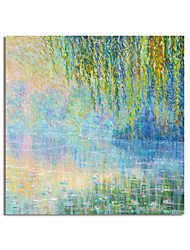 cheap -Oil Painting Handmade Hand Painted Wall Art Impression Landscape Home Decoration Decor Stretched Frame Ready to Hang