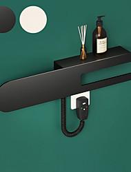 cheap -Towel Bar Bathroom Shelf Smart Multifunction Contemporary Modern Aluminum 1pc Bathroom Towel Warmer Wall Mounted