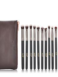cheap -MSQ 12 Pcs Eyeshadow Makeup Brushes Set Concealer Eye Shadow Blending Eyeliner Dtail pincel maquiagem Rose Gold Make Up Brush
