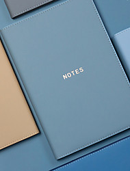 cheap -A5 Agenda Diary Personal Organizer PU Leather Cover Loose-leaf notebook back to school office14.5*21 cm1pcs