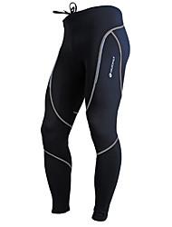 cheap -Nuckily Women's Men's Winter Fleece Polyester Bike Pants Pants / Trousers Bottoms Thermal Warm Windproof Fleece Lining Sports Fashion Red / Gray / Green Clothing Apparel Bike Wear / Anatomic Design