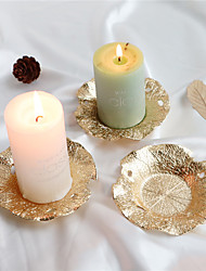 cheap -1pc Metal Candle Holder European Style Flower