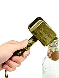 cheap -Beer Bottle Openers Multifunction Hammer of Thor Shaped Beer Bottle Opener with Long Handle Bottler Opener Beer