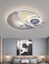 cheap -LED Ceiling Light 50 cm Dimmable Ceiling Fan Aluminum Artistic Style Vintage Style Modern Style Painted Finishes LED Nordic Style 220-240V