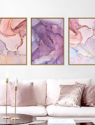 cheap -Wall Art Canvas Prints Painting Artwork Picture Abstract Marble Home Decoration Décor Rolled Canvas No Frame Unframed Unstretched